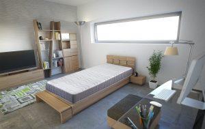 matelas m moire de forme 19 20 cm leonicat. Black Bedroom Furniture Sets. Home Design Ideas
