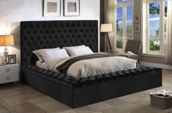 Bliss Black King Size Bed bliss Meridian